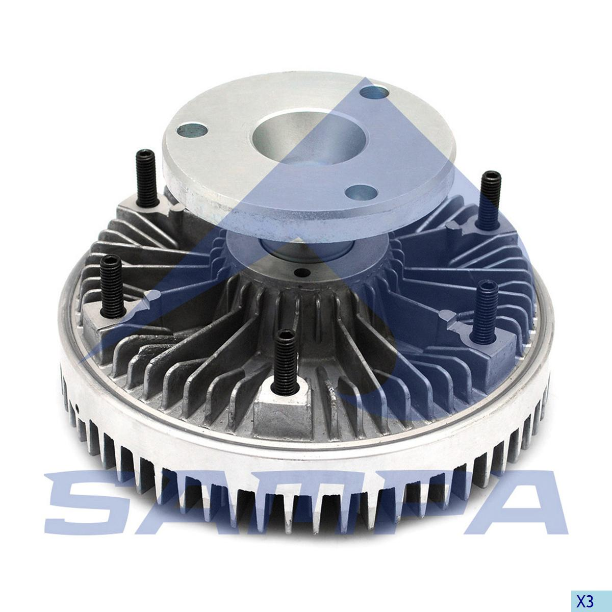 Visco Drive, Fan, Iveco, Engine
