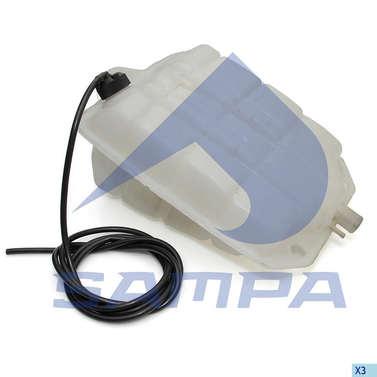 Expansion Tank, Radiator, Iveco, Engine