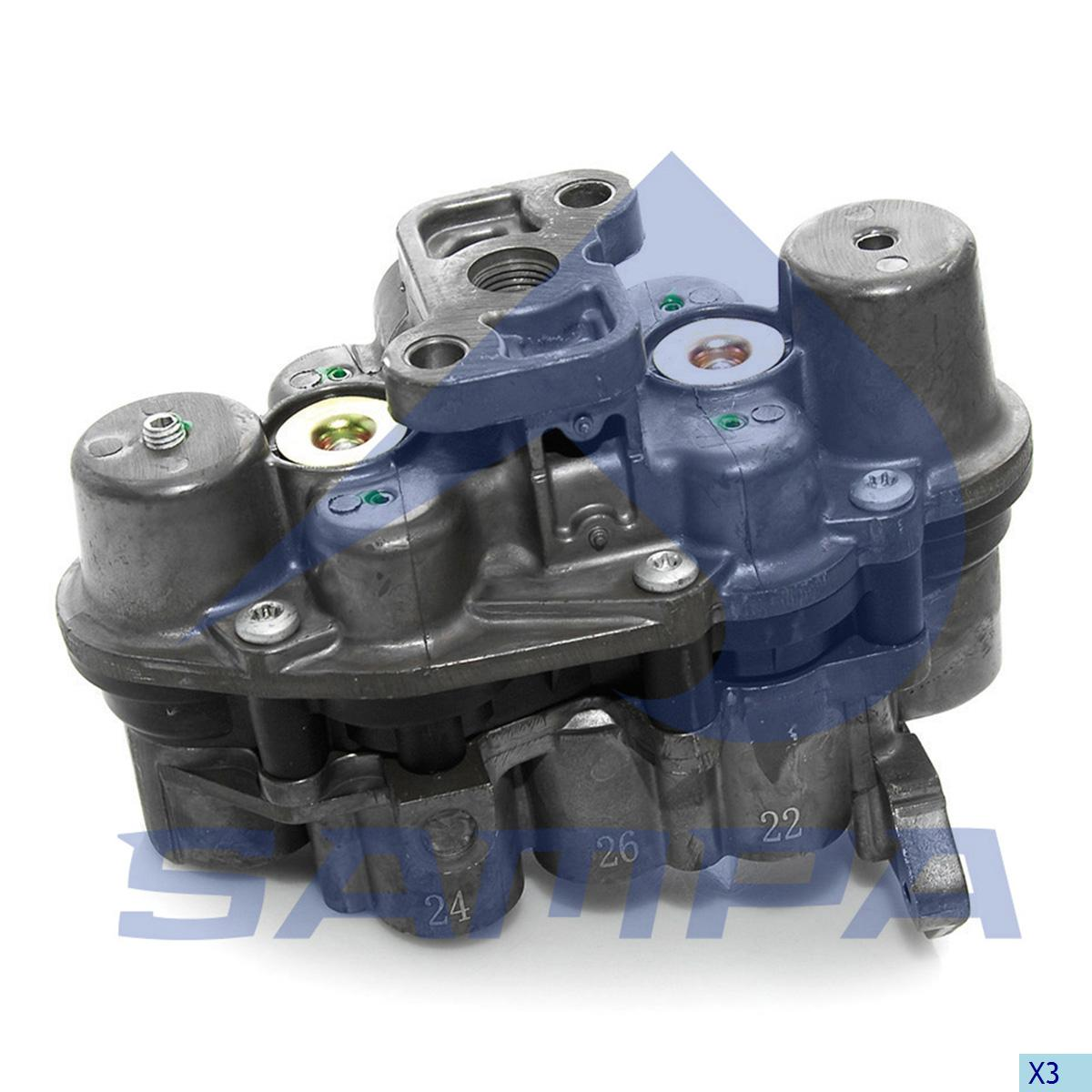 Safety Valve, Iveco, Compressed Air System