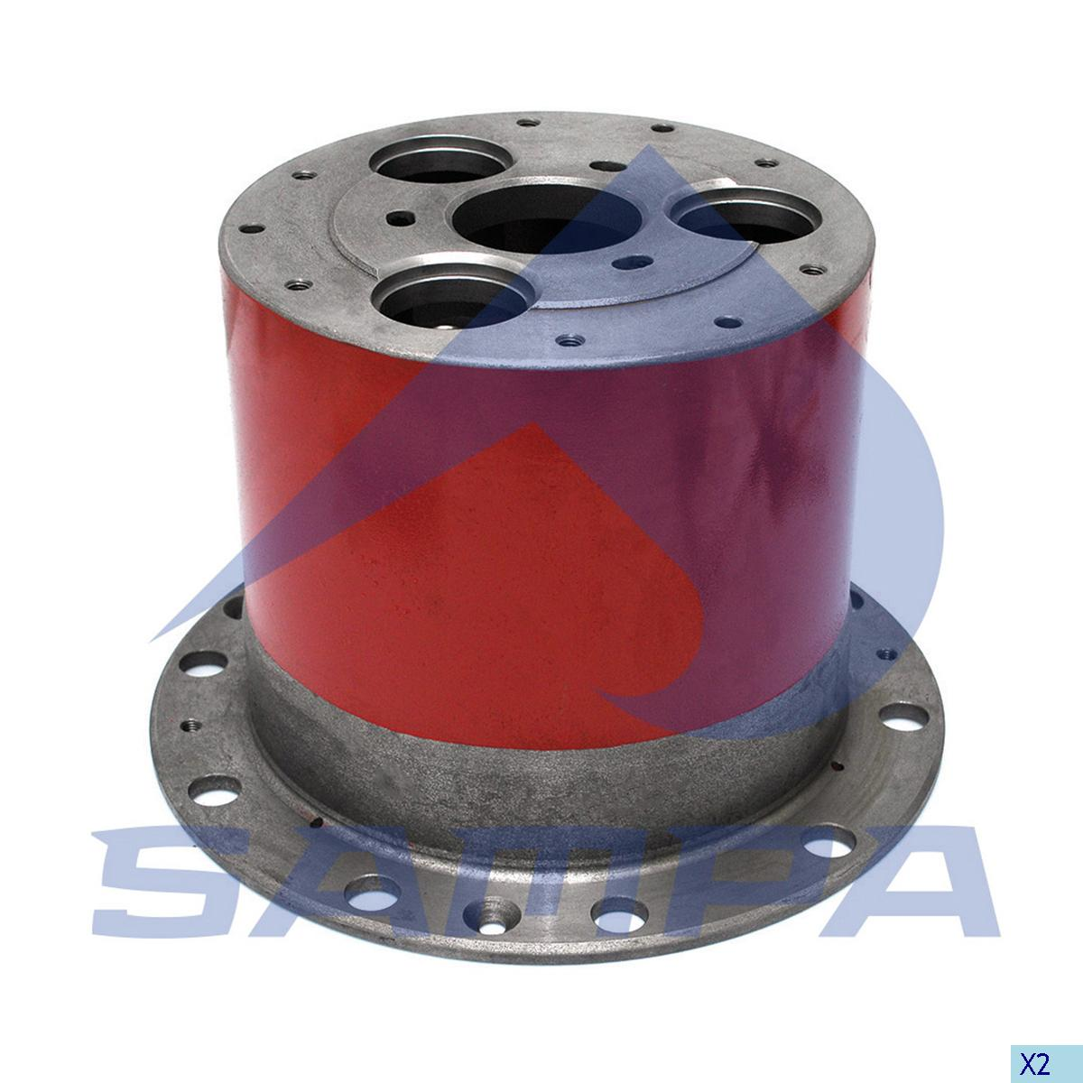 Wheel Hub, Iveco, Power Unit