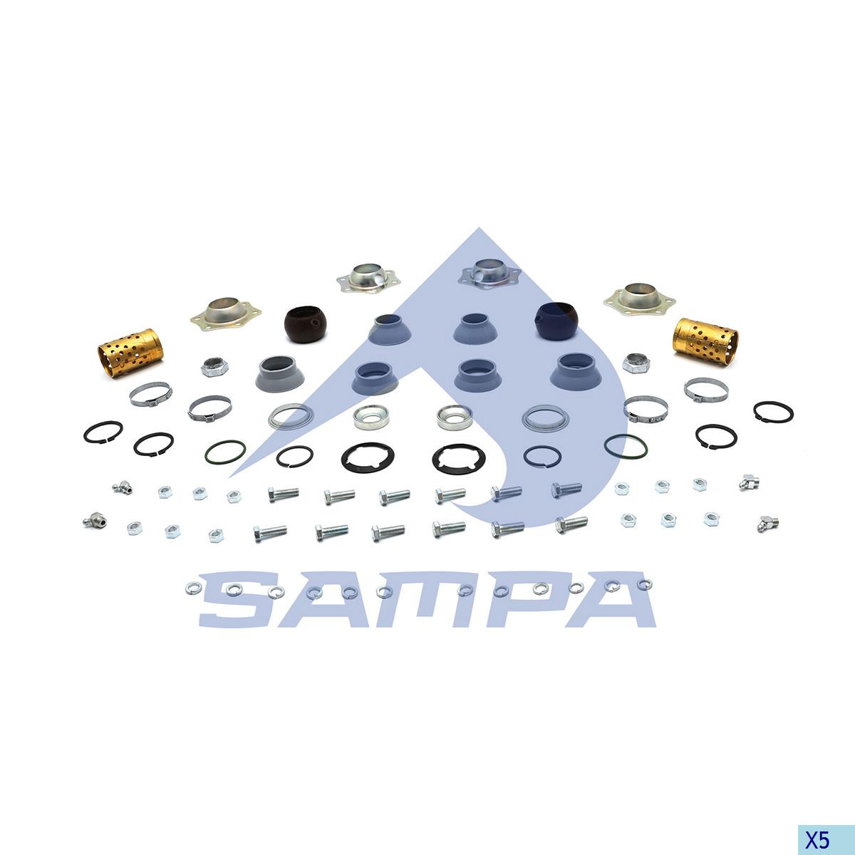 Repair Kit, Brake Cam Shaft, Bergische Achsen, Brake