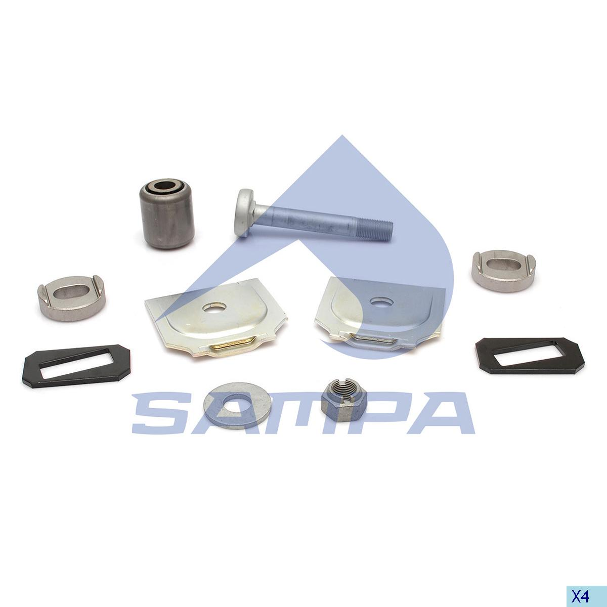 Repair Kit, Spring, Bergische Achsen, Suspension