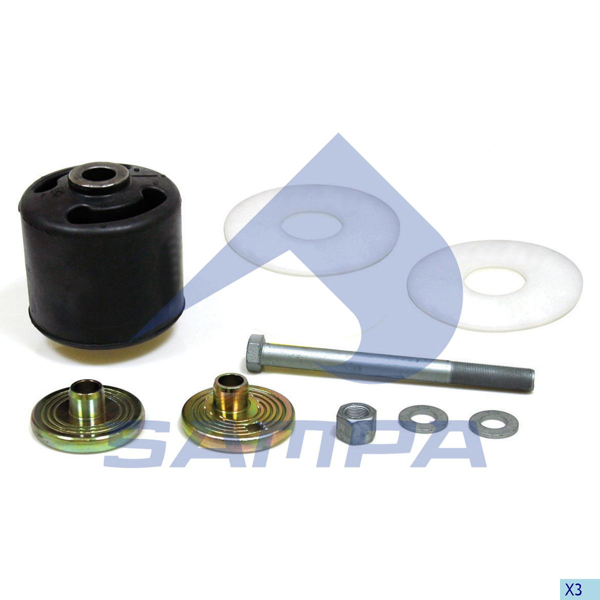 Repair Kit, Balance Arm Axle, Sauer Achsen, Power Unit
