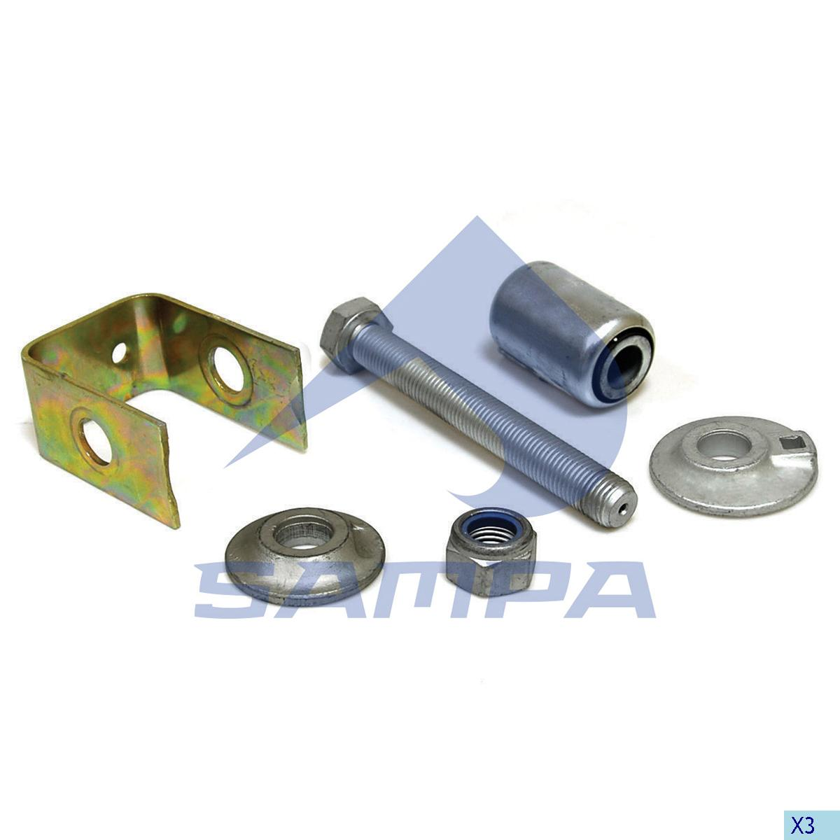 Repair Kit, Spring, Sauer Achsen, Suspension