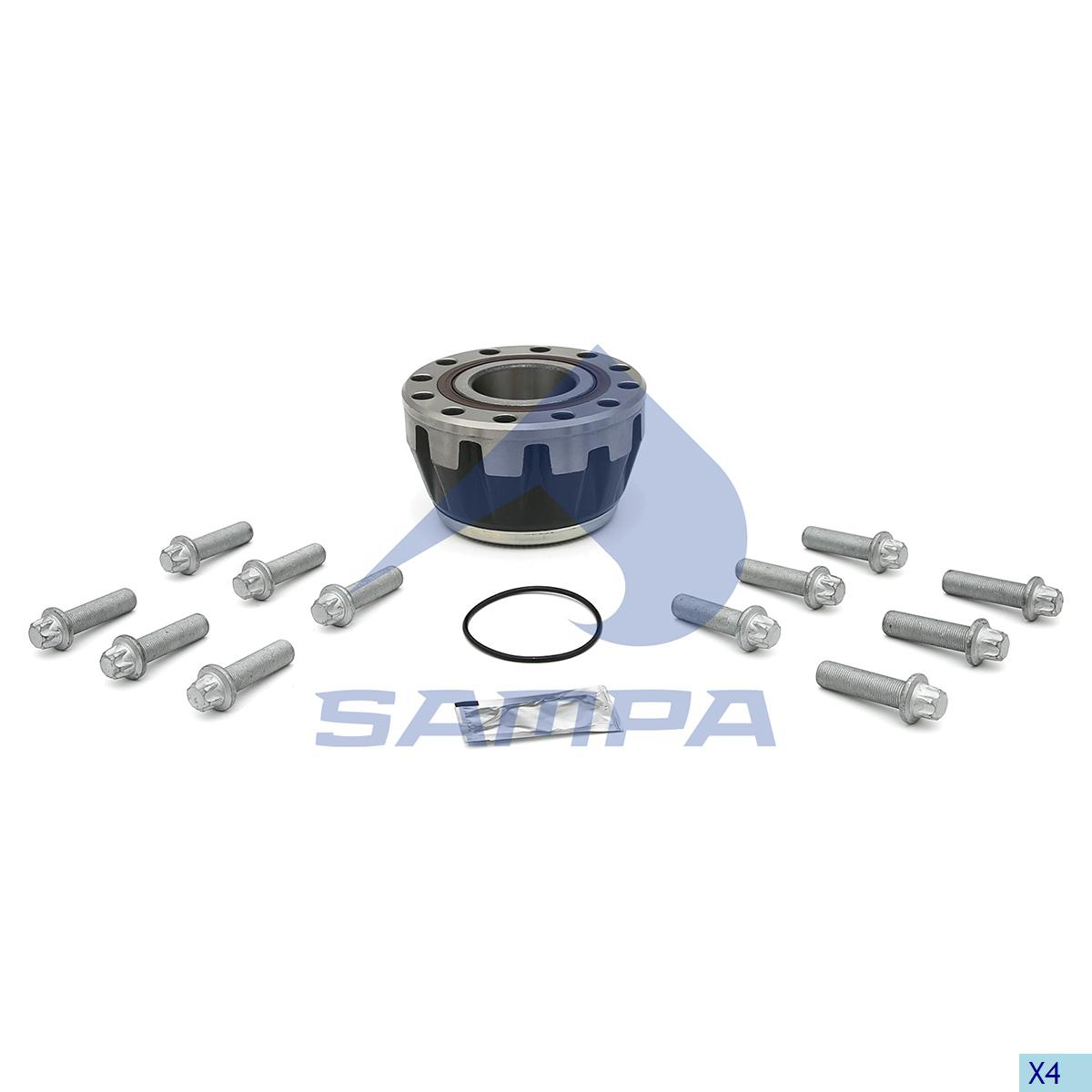 Repair Kit, Wheel Hub, Sauer Achsen, Power Unit