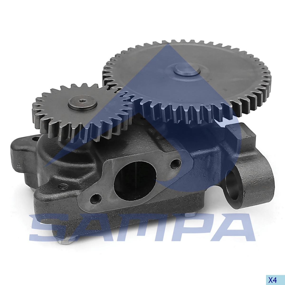 Oil Pump, R.V.I., Gear Box
