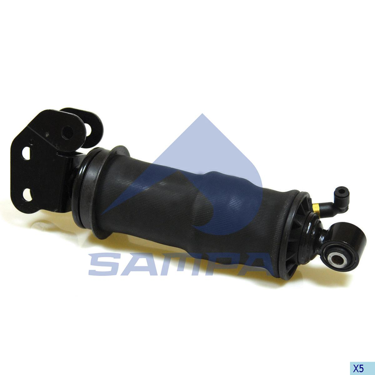 Shock Absorber, with Air Bellow, Cab, R.V.I., Cab