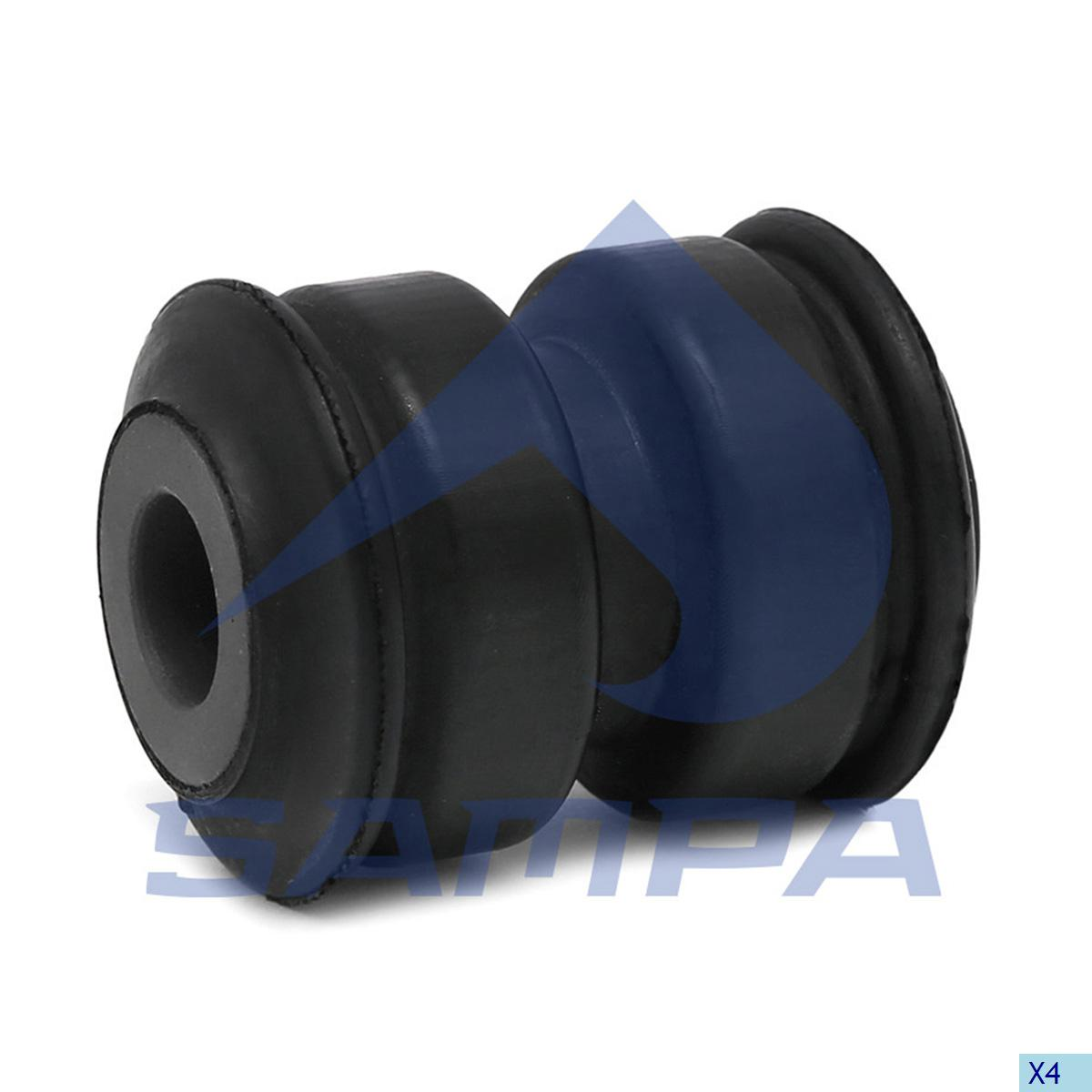 Rubber Bushing, Spring, R.V.I., Suspension