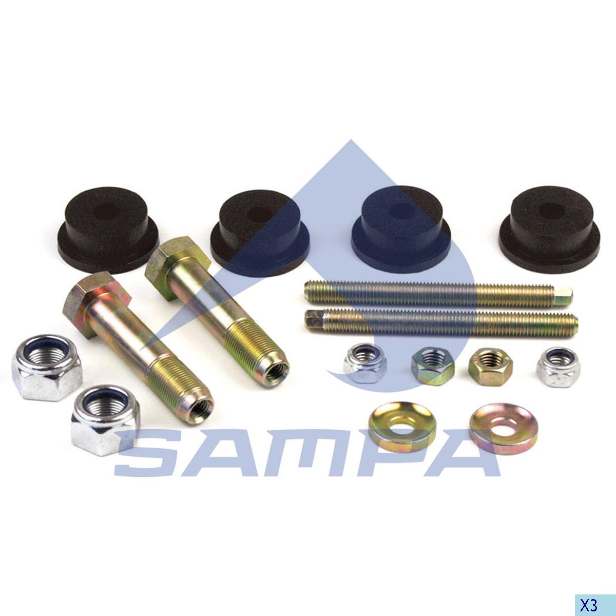 Repair Kit, Stabilizer Bar, R.V.I., Suspension