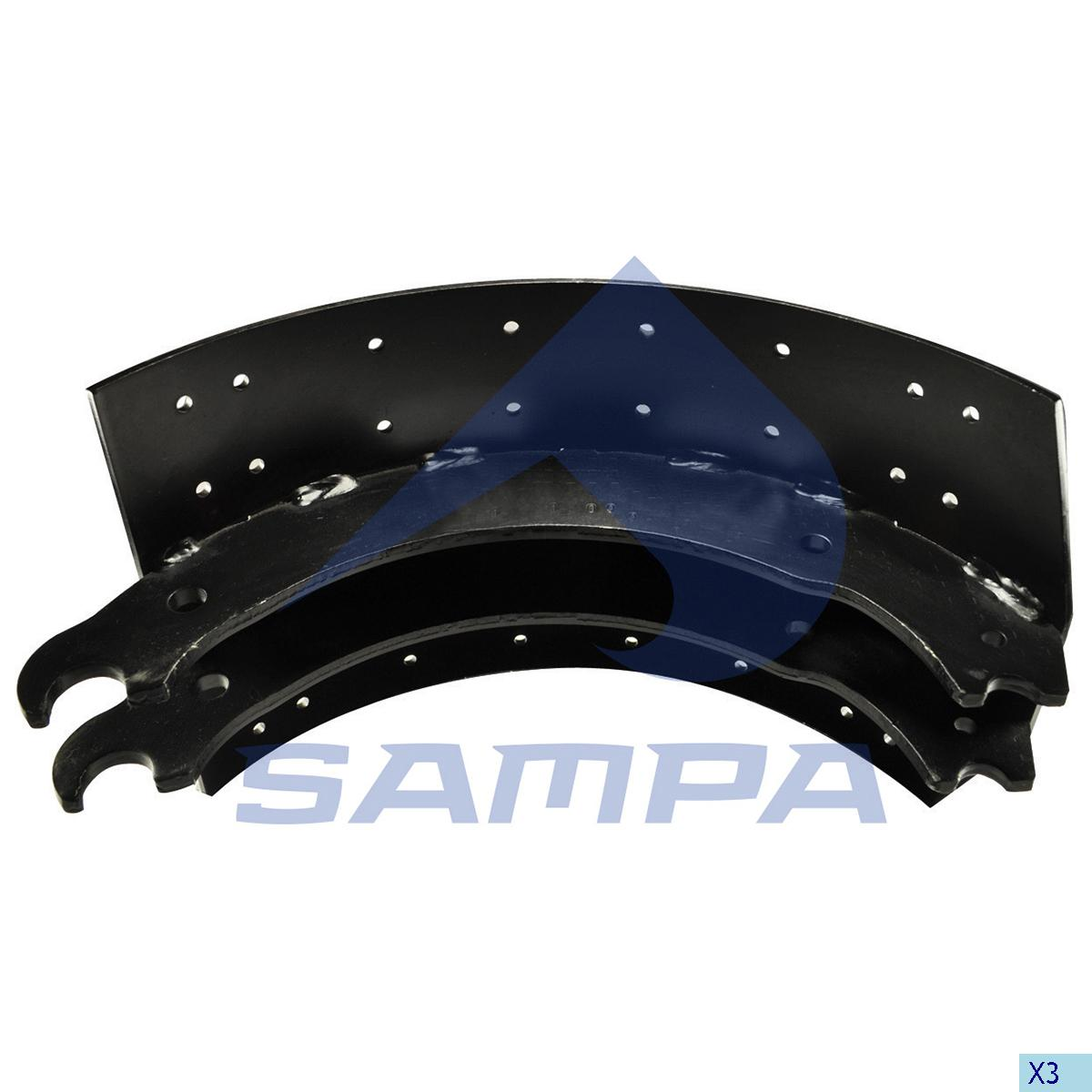 Brake Shoe, Brake Drum, Ror-Meritor, Brake