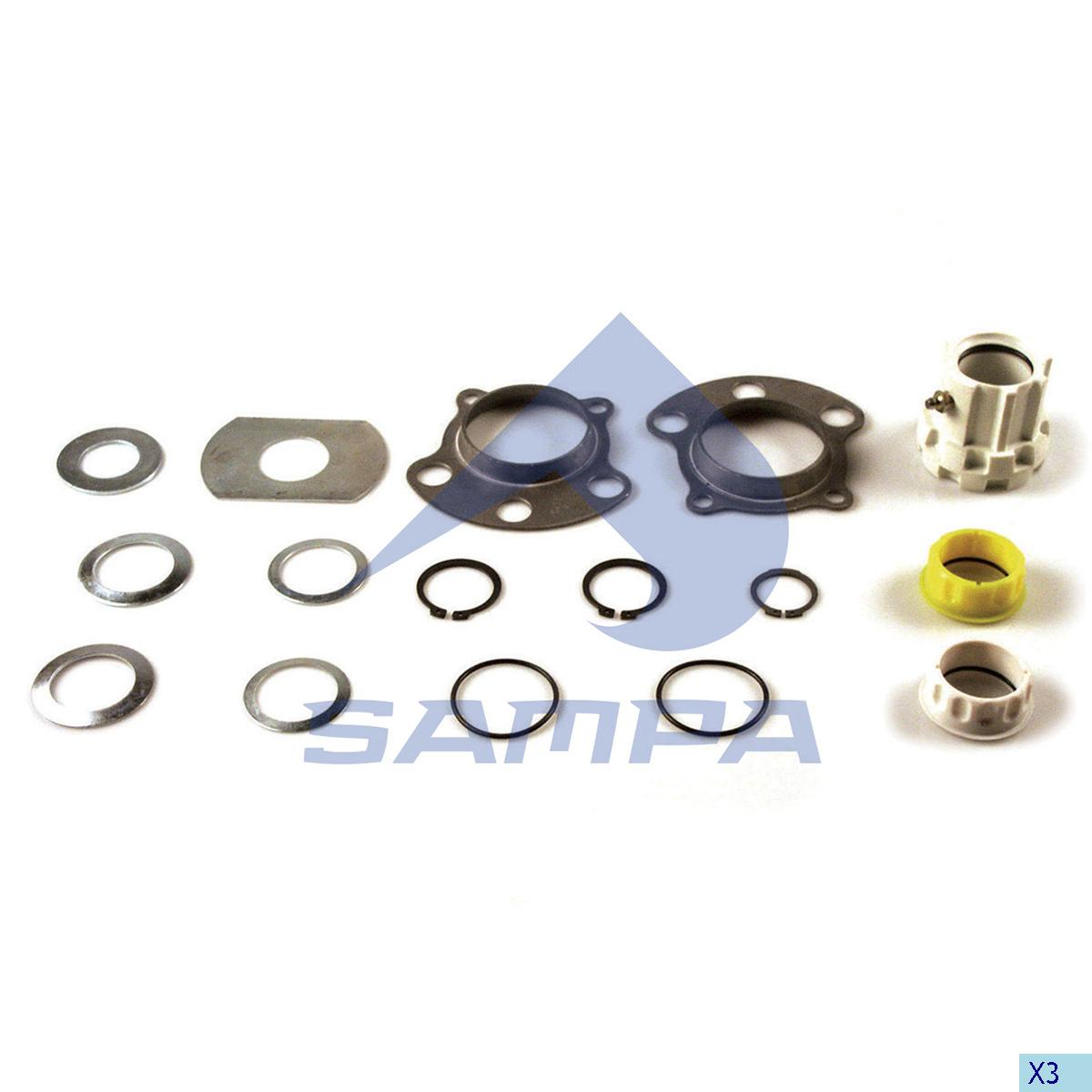 Repair Kit, Brake Cam Shaft, Ror-Meritor, Brake