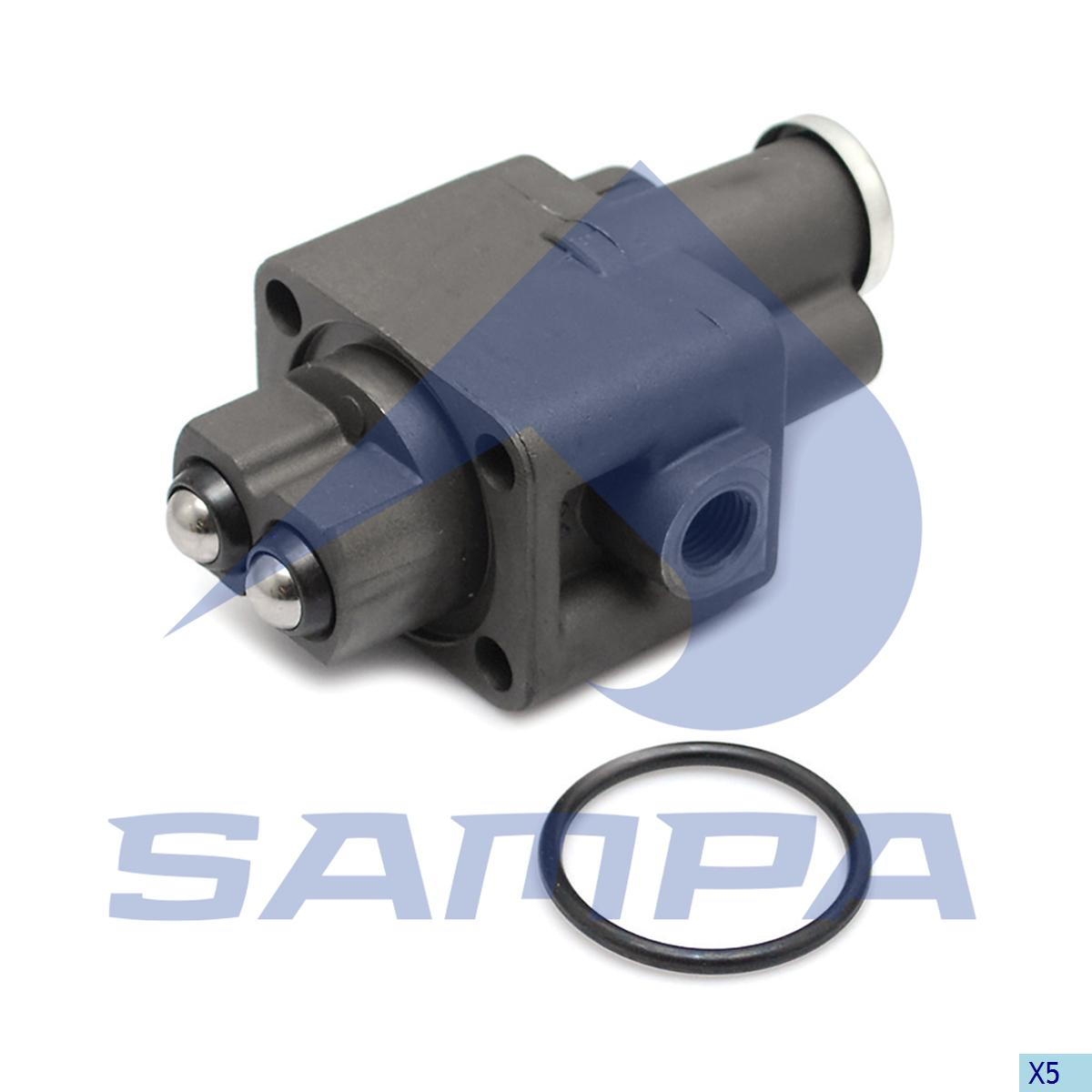 Valve, Gear Box Housing, Iveco, Gear Box