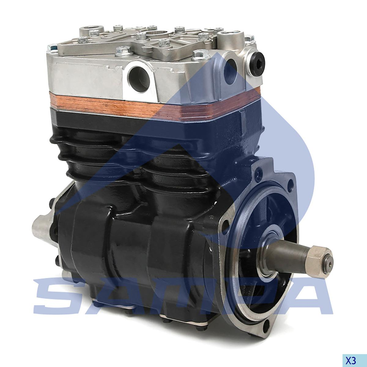Compressor, Iveco, Compressed Air System