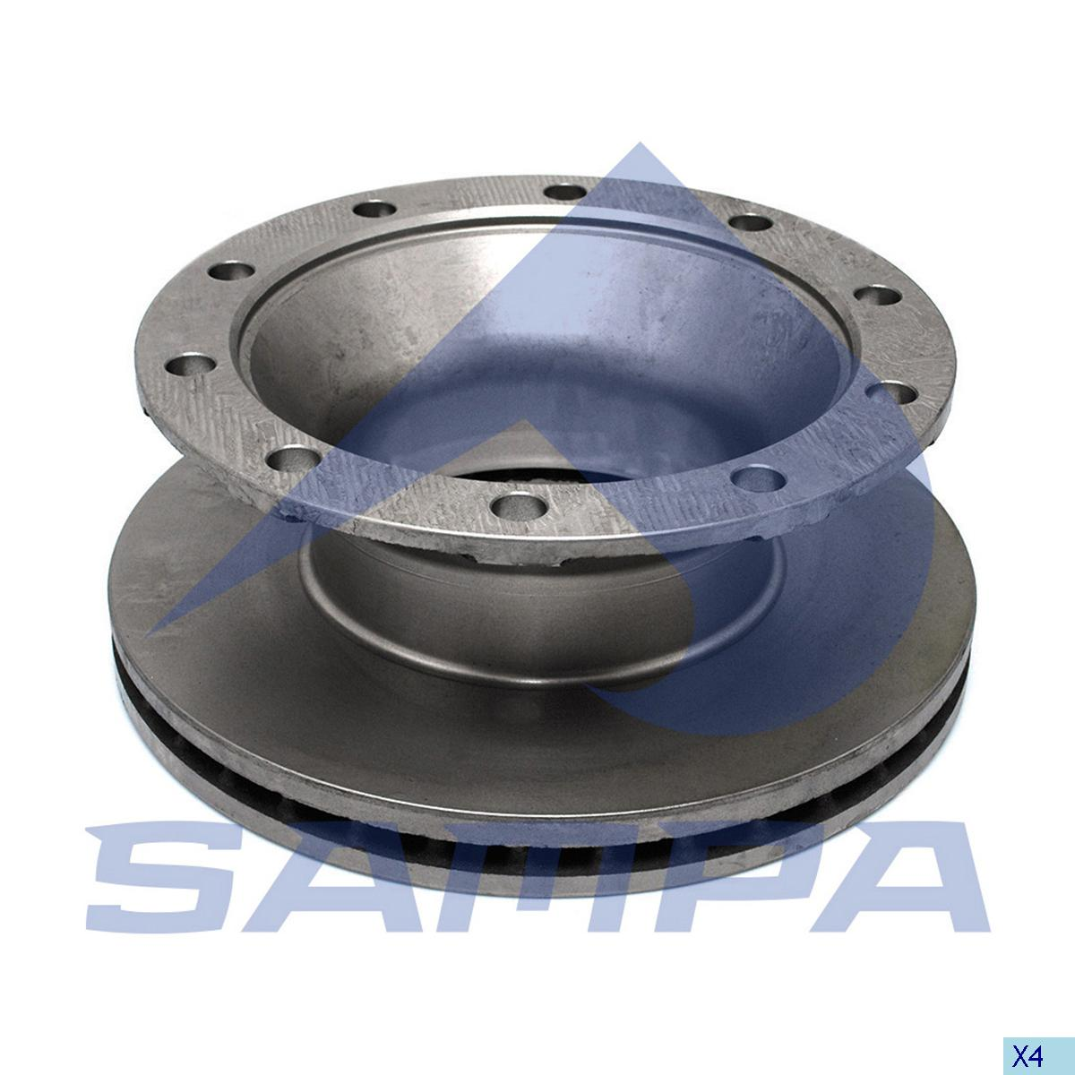 Brake Disc, Schmitz, Brake
