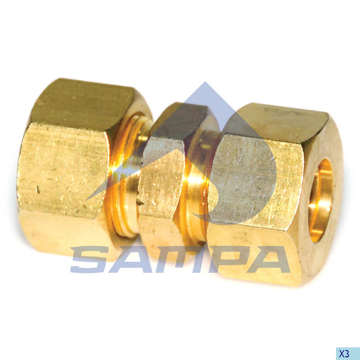 Straight Coupling, Universal, Universal Parts