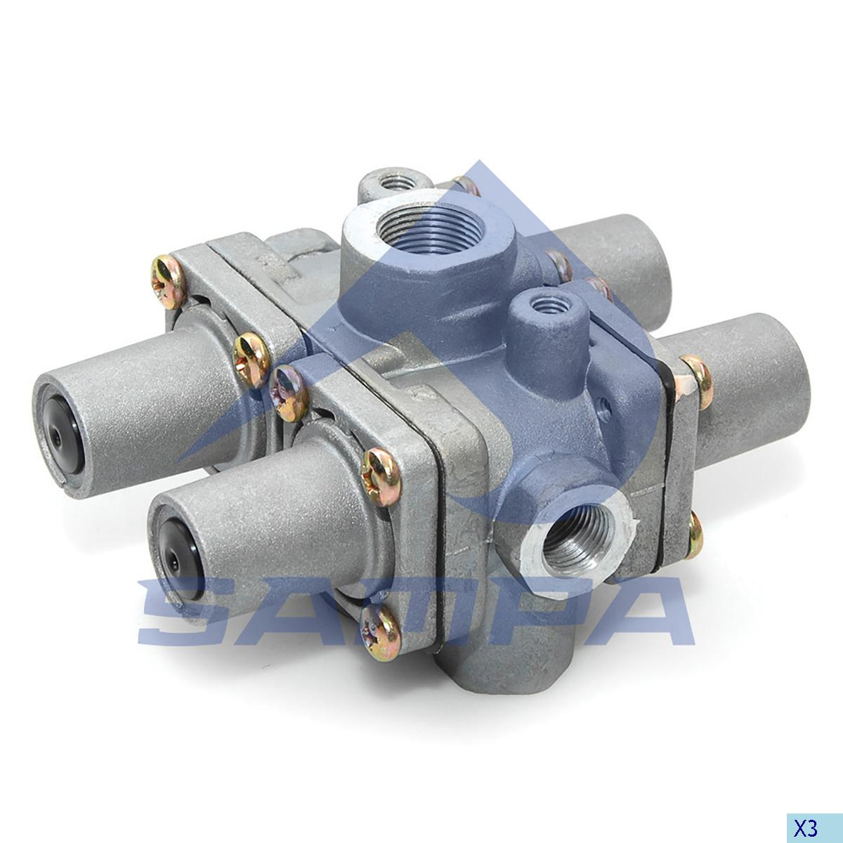 Multiway Valve, Daf, Compressed Air System