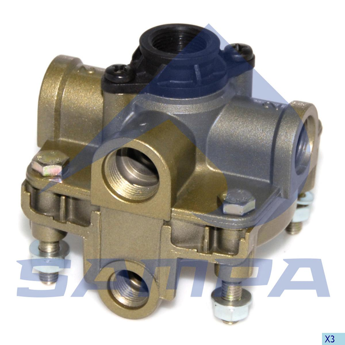 Relay Valve, Scania, Compressed Air System