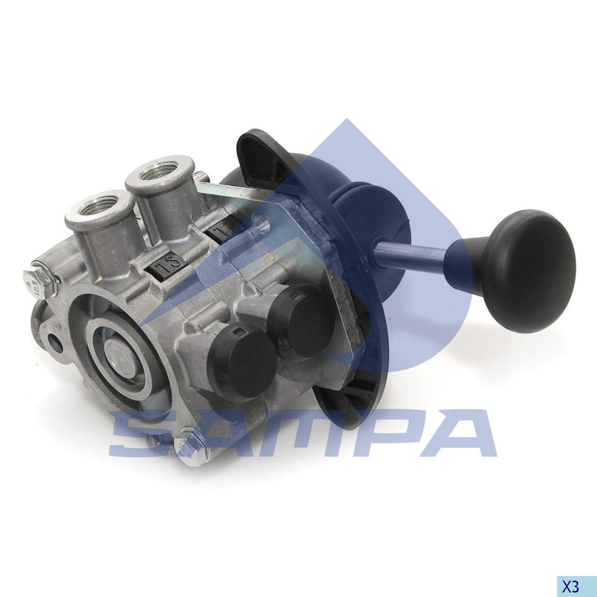 Raise Lower Valve, Mercedes, Compressed Air System