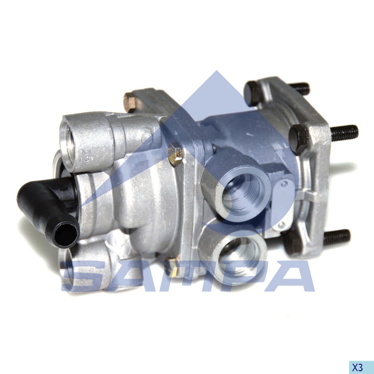 Foot Brake Valve, Daf, Compressed Air System