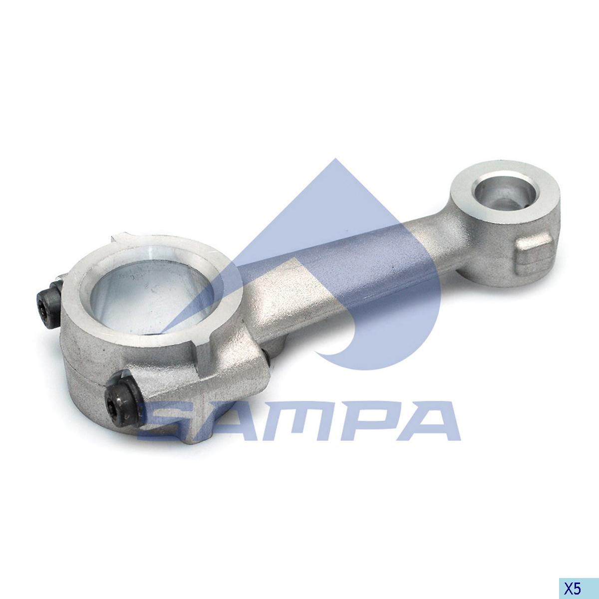 Connecting Rod, Piston, Scania, Compressed Air System