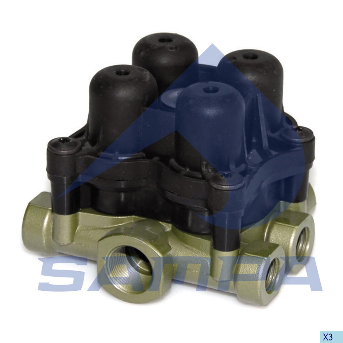 Safety Valve, Volvo, Compressed Air System