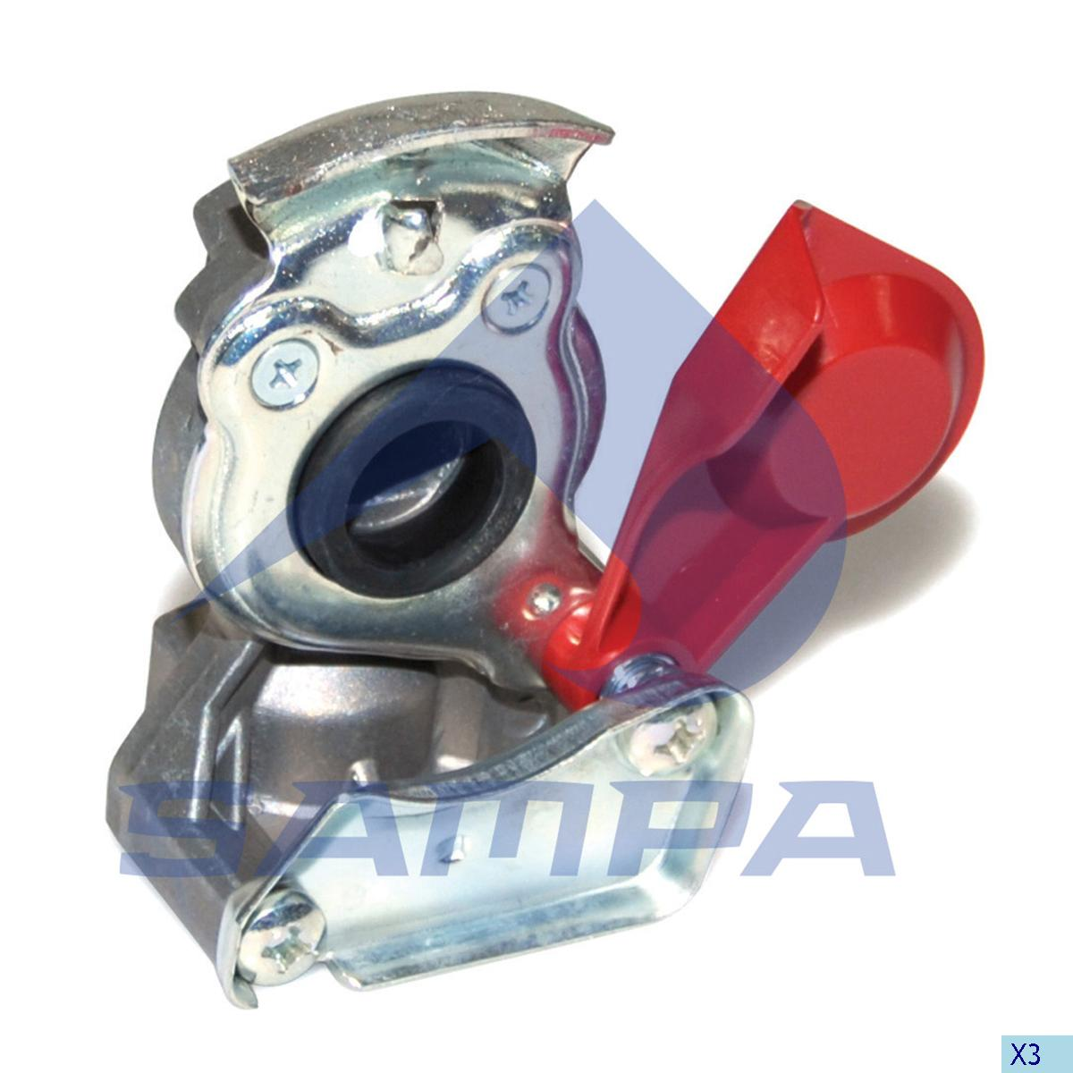Coupling, Daf, Compressed Air System