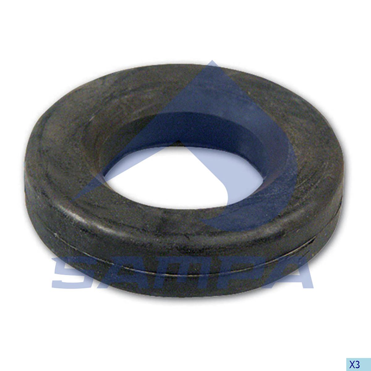 Rubber Bushing, Trailer Coupling, Ringfeder, Complementary Equipment