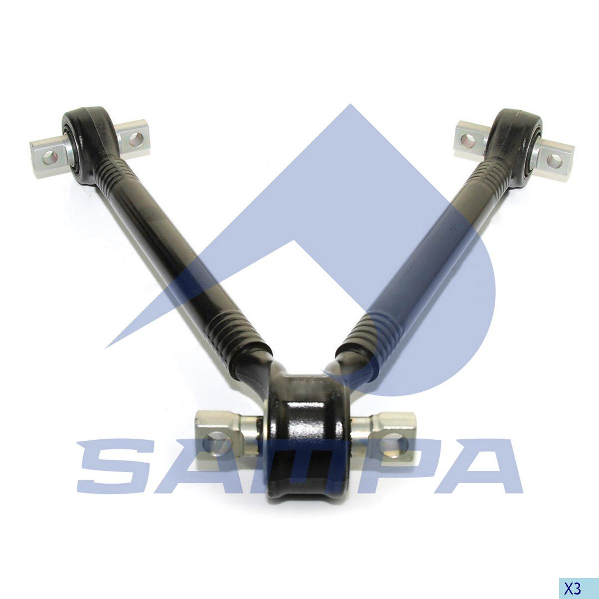 V Arm, Scania, Suspension