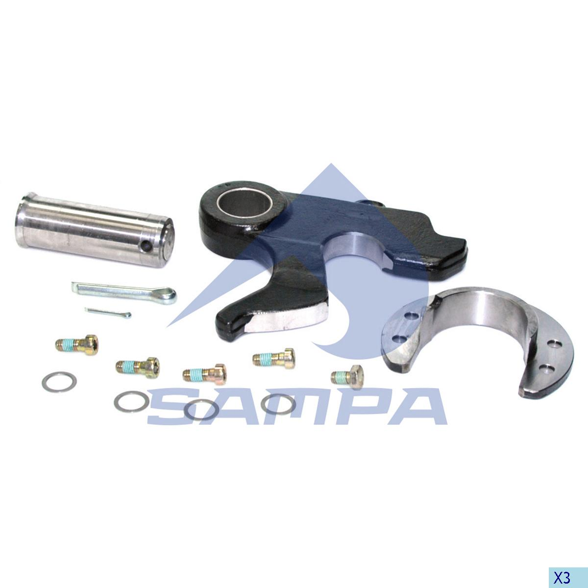 Repair Kit, Fifth Wheel, Georg Fischer, Complementary Equipment