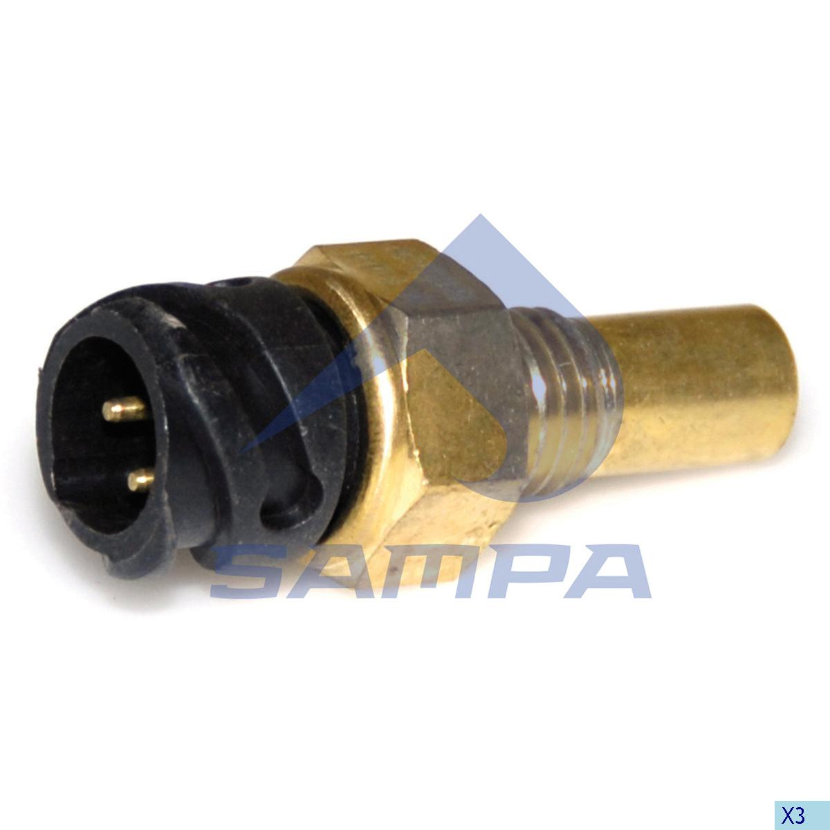 Temperature Sensor, Man, Electric System