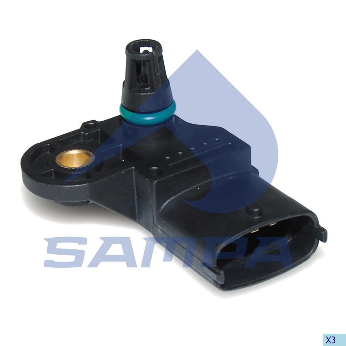 Pressure Sensor, Iveco, Electric System
