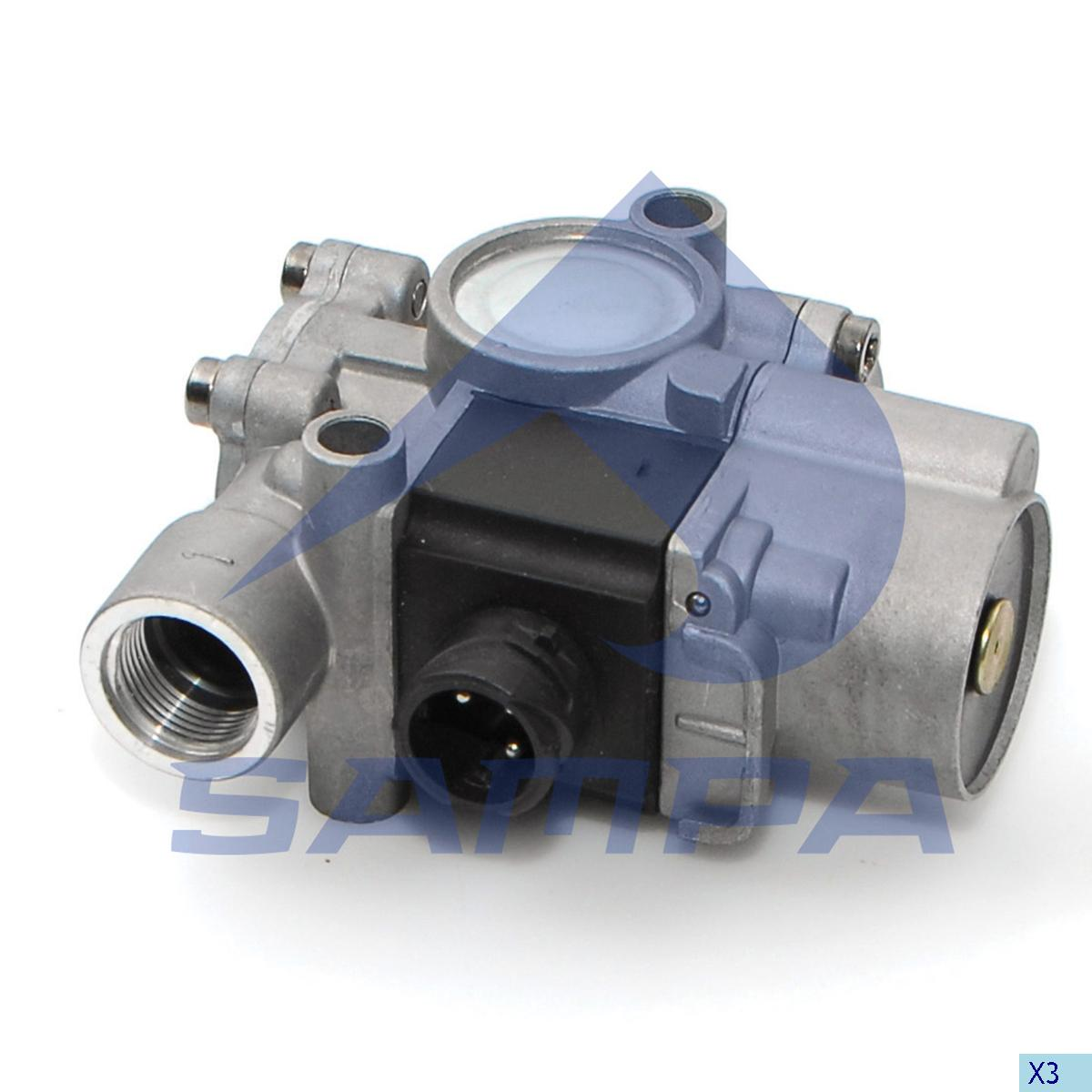 Solenoid Valve, Daf, Compressed Air System