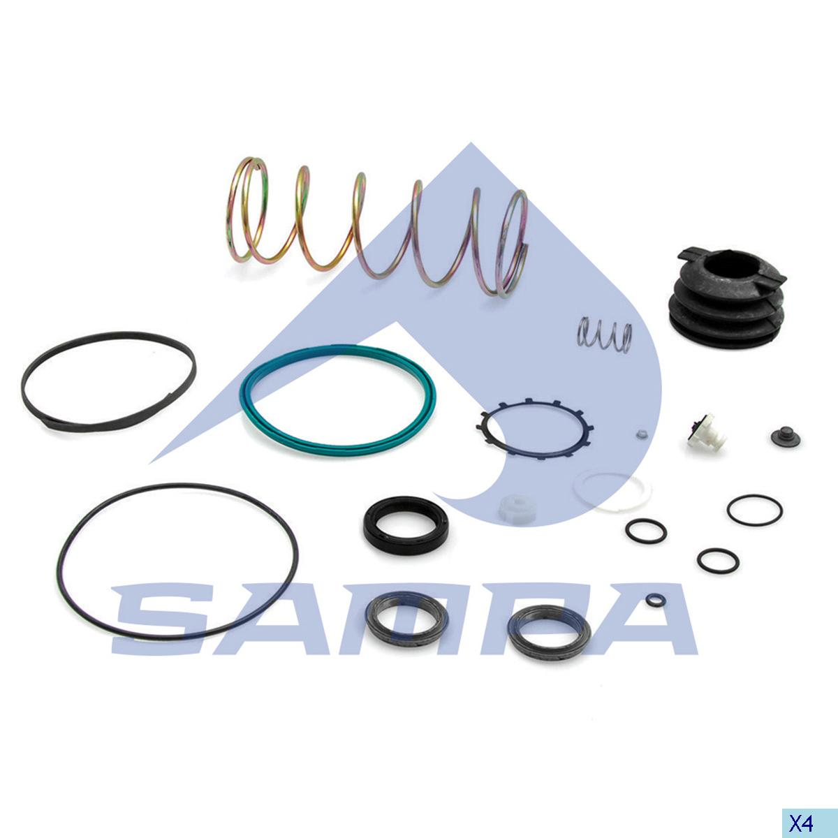 Repair Kit, Clutch Servo, Scania, Clutch