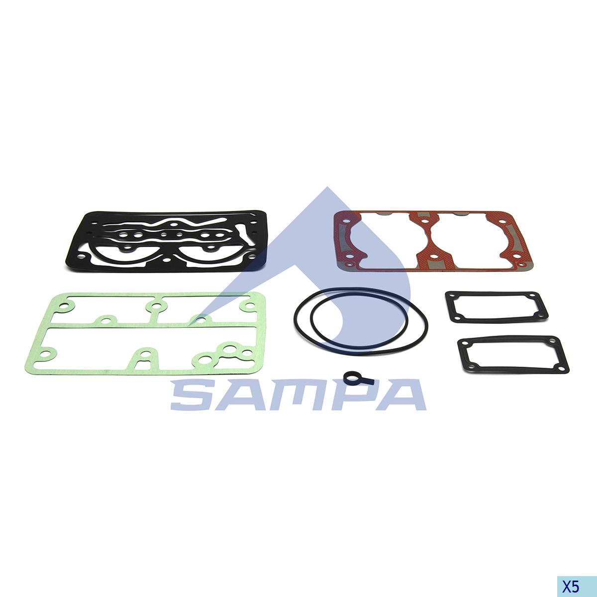 Gasket Kit, Cylinder Head, Scania, Compressed Air System