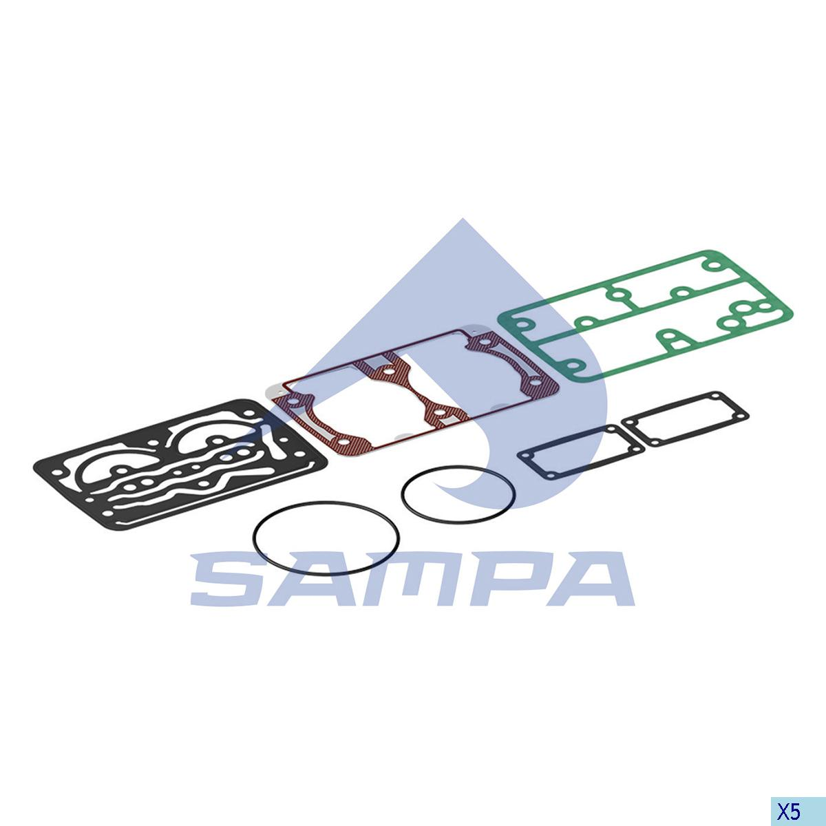 Gasket Kit, Compressor, Iveco, Compressed Air System