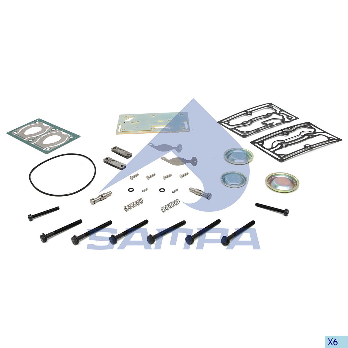 Repair Kit, Compressor, R.V.I., Compressed Air System