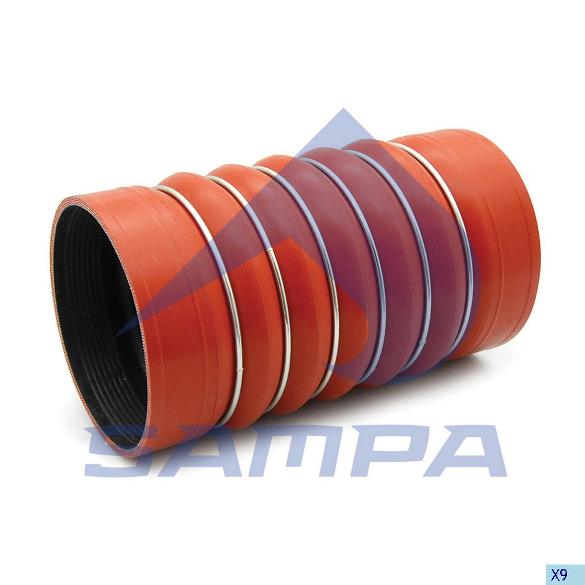 Hose, Intercooler, Mercedes, Engine