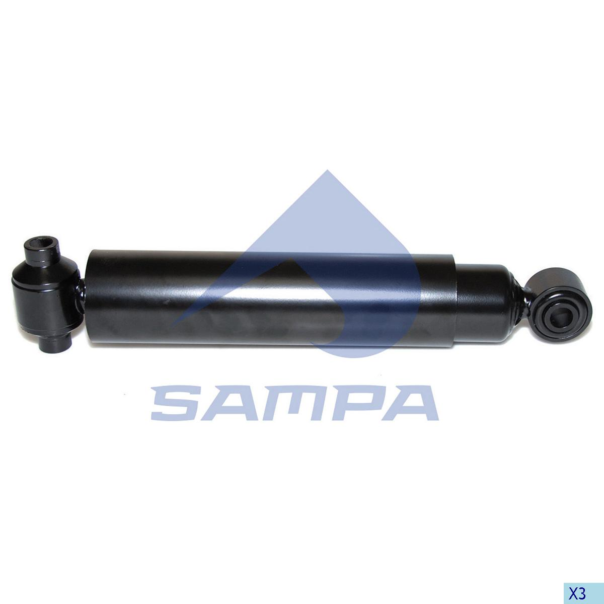 Shock Absorber, Mercedes, Suspension