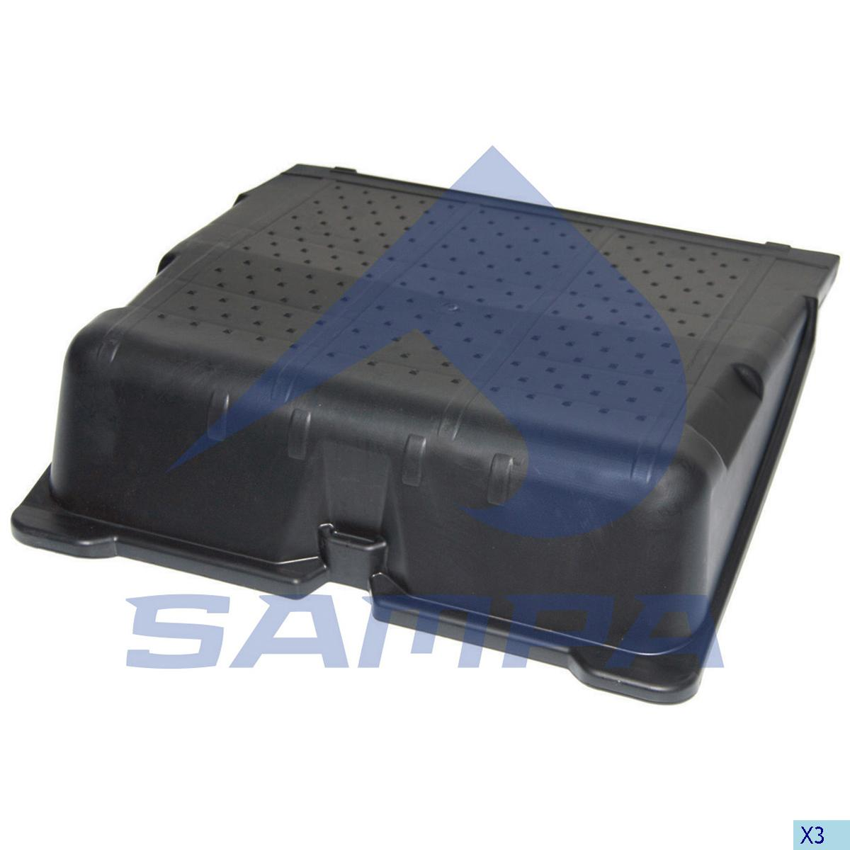 Cover, Battery, Mercedes, Electric System