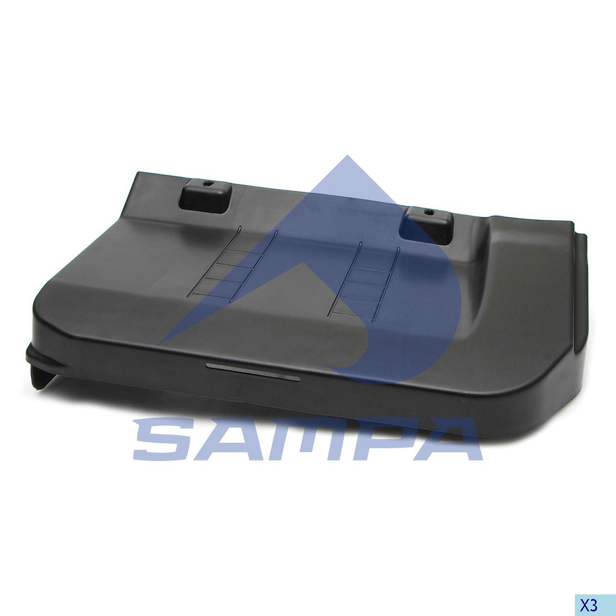 Cover, Battery, R.V.I., Electric System