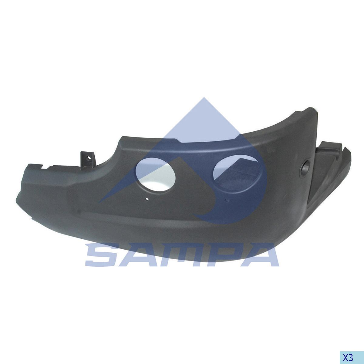 Bumper, Scania, Chassis