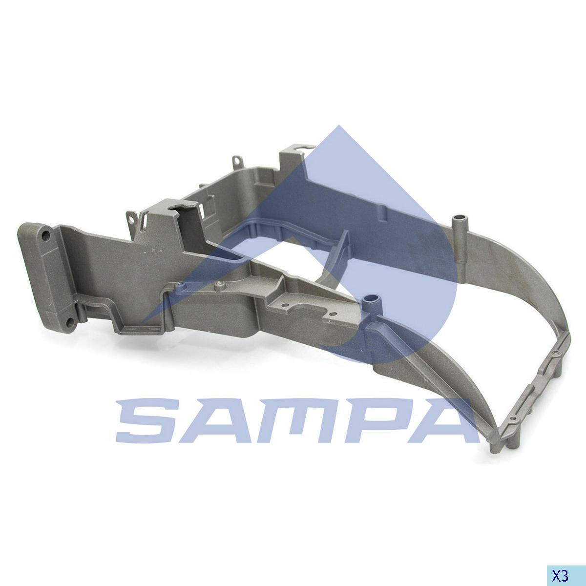 Bracket, Head Lamp, Daf, Electric System