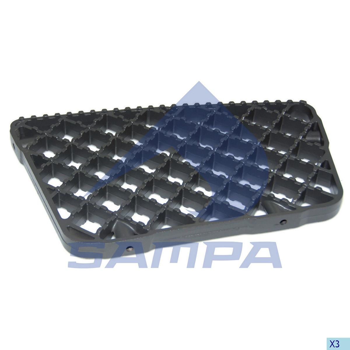 Plate, Step, Iveco, Cab