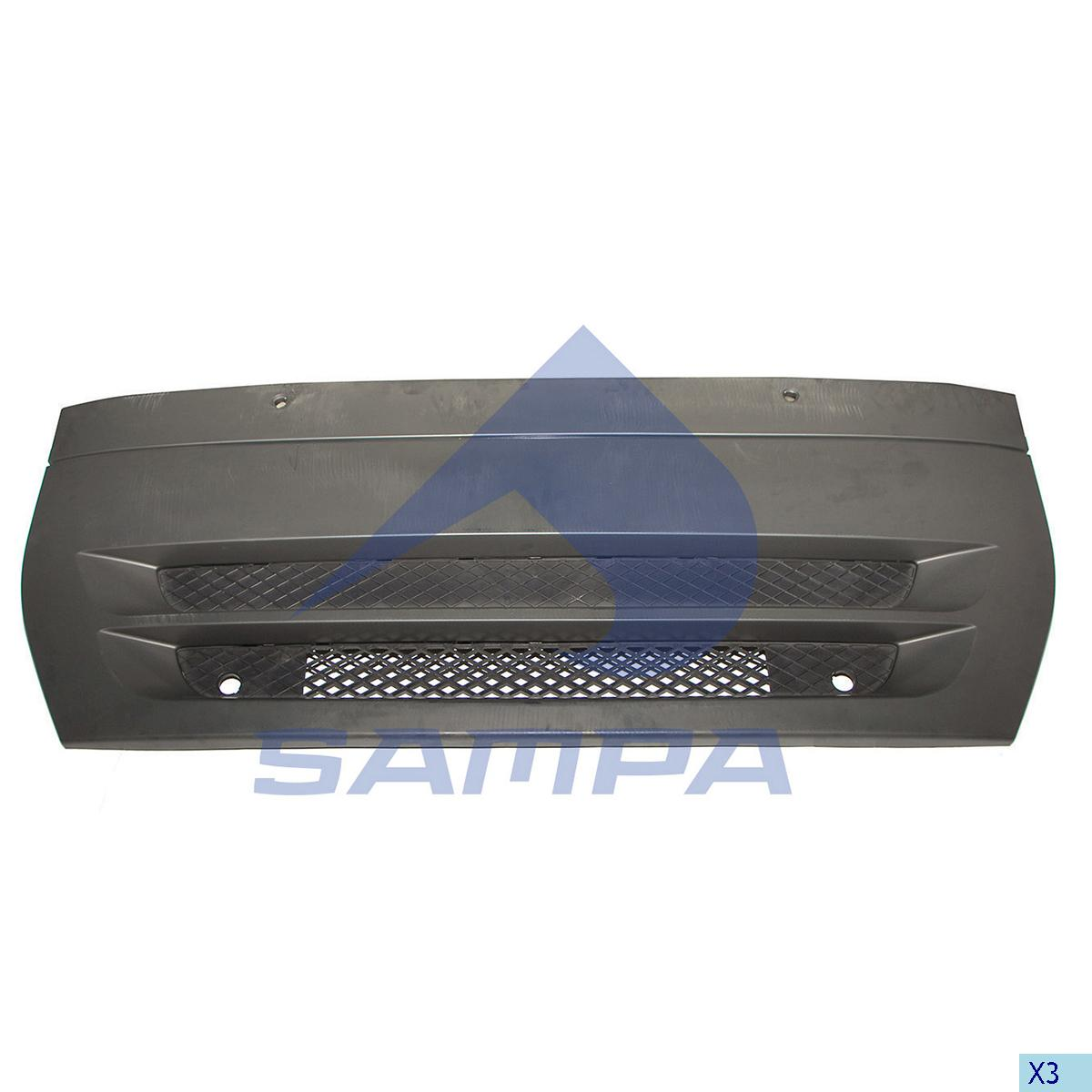 Front Panel, Iveco, Cab
