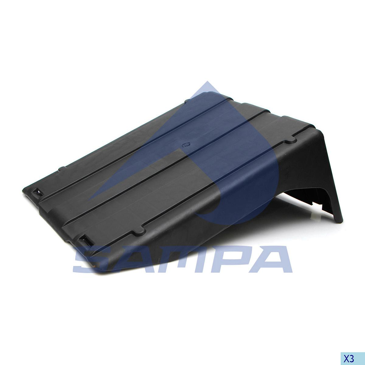 Cover, Battery, Iveco, Electric System