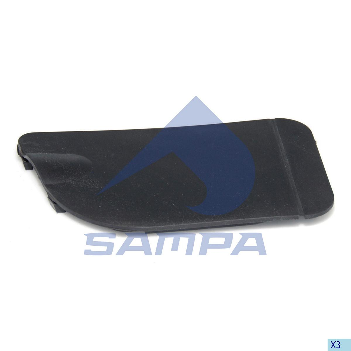 Cover, Bumper, R.V.I., Chassis