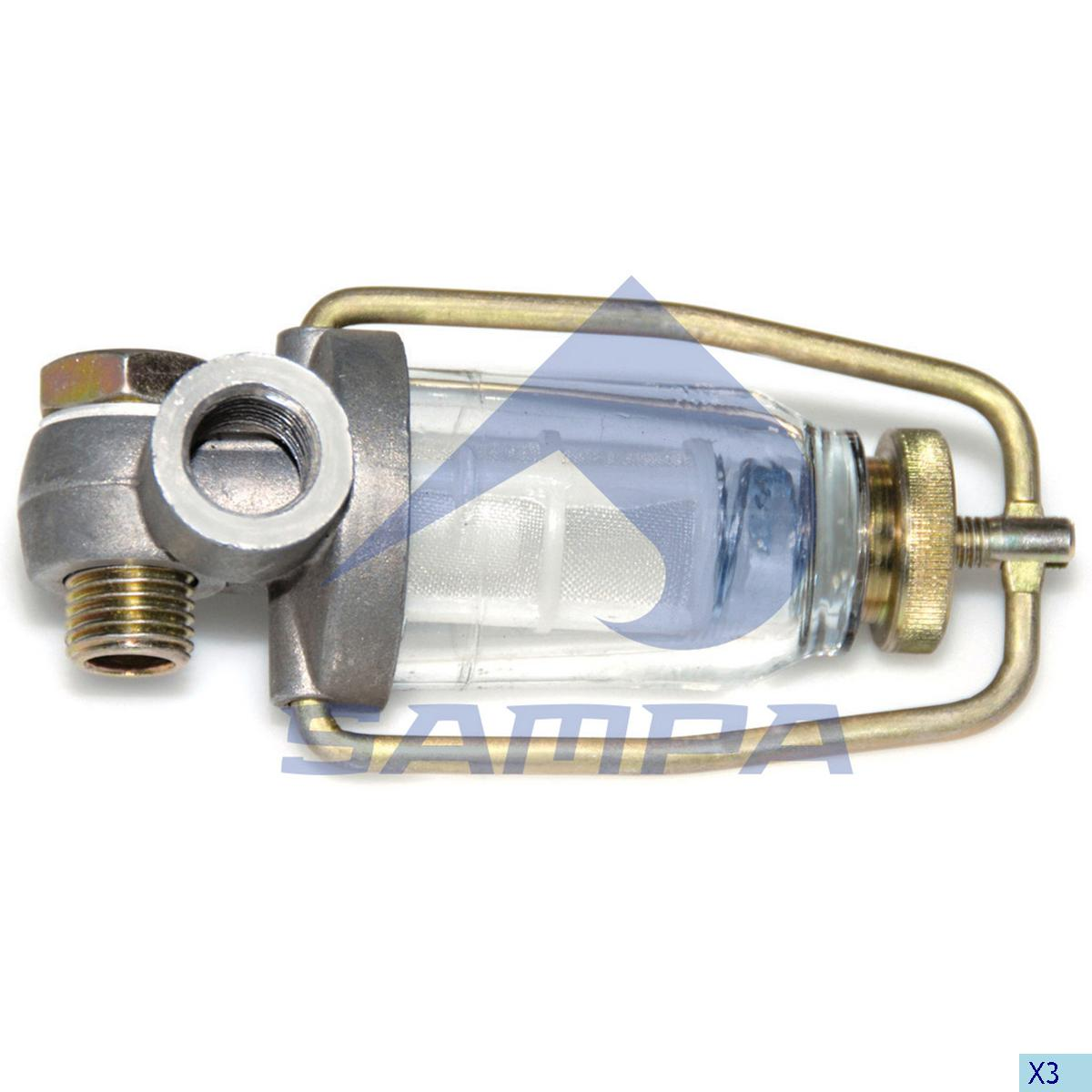 Precleaner, Fuel Filter, Iveco, Engine