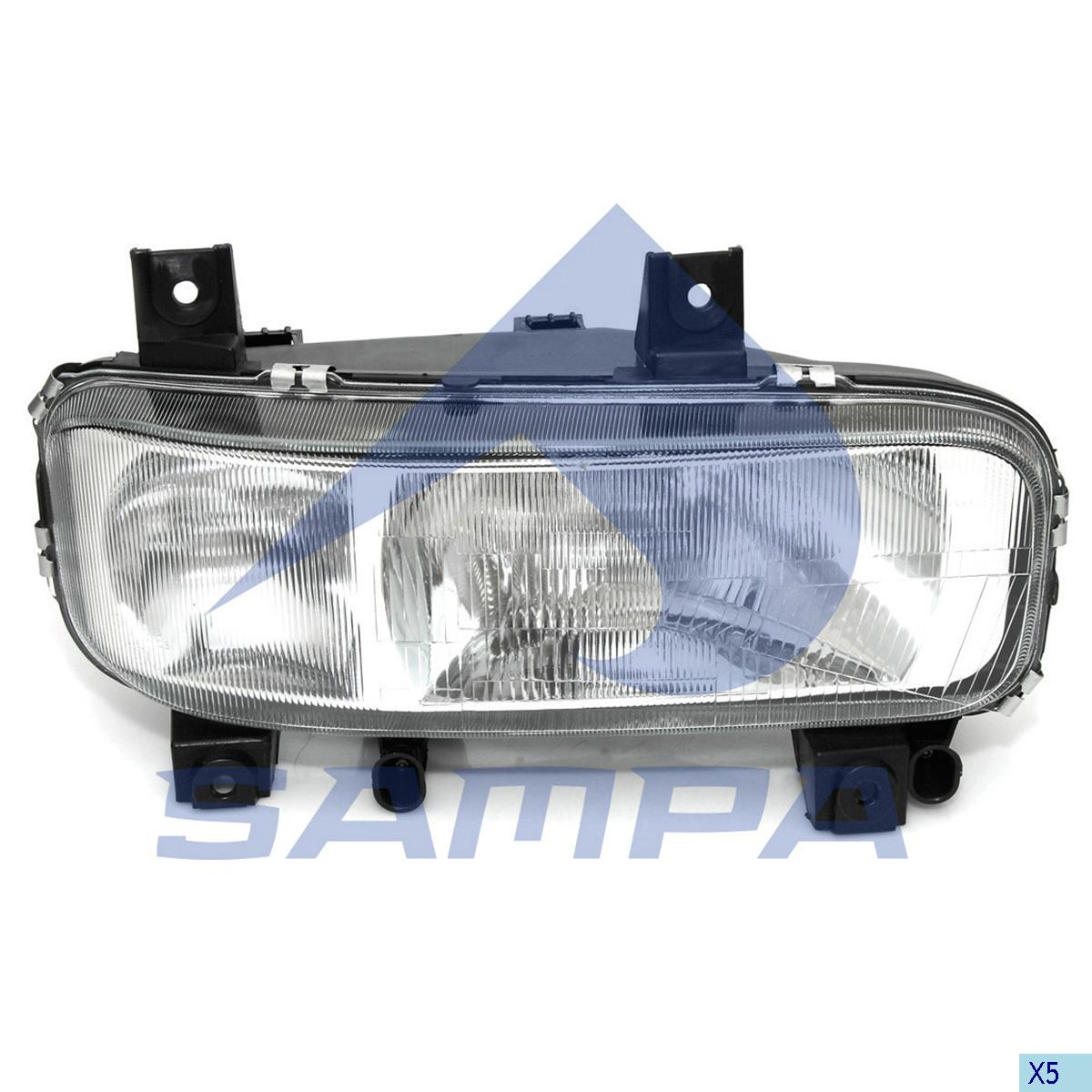 Head Lamp, Mercedes, Electric System