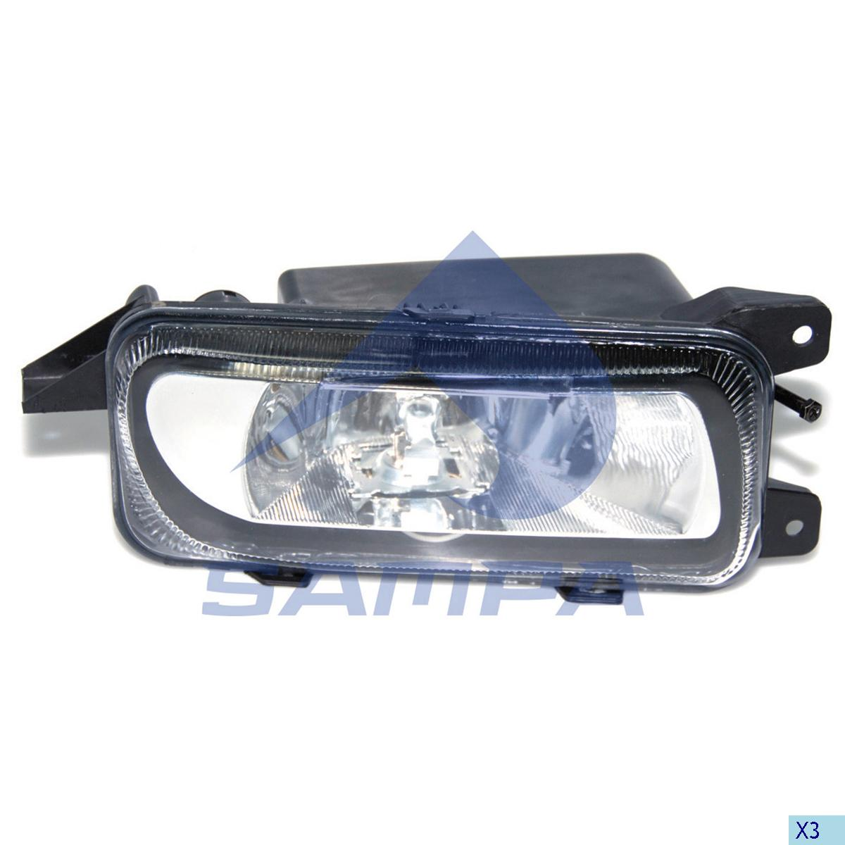 Fog Lamp, Mercedes, Electric System