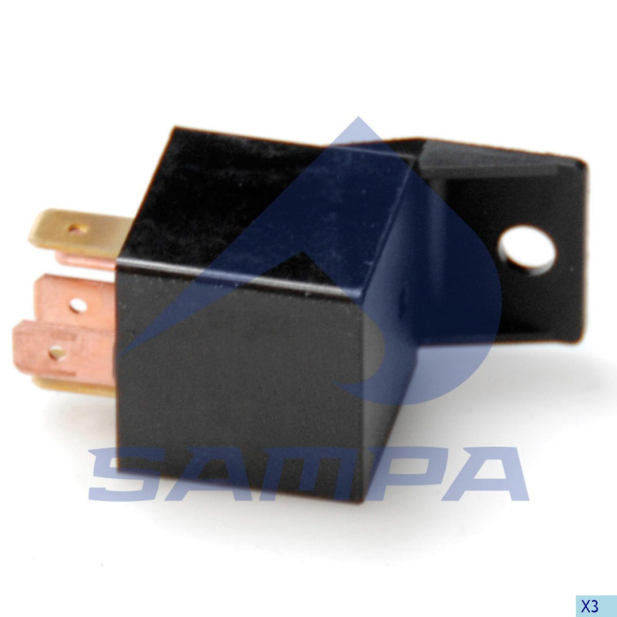 Flasher Relay, Central Electric Unit, Daf, Electric System